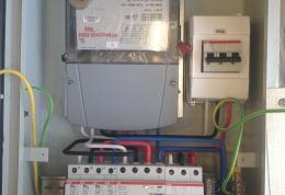 Установка и монтаж вводного распределительного устройства (ВРУ).
