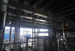 Монтаж системы электроснабжения компрессорного цеха ПП