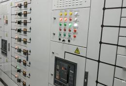 Монтаж электроосвещения и электроснабжения производственной площадки с 3-этажным АБК